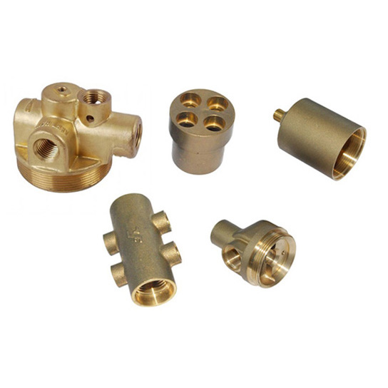 Forging brass fittings