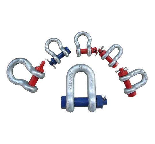 Rigging hardware-shackle