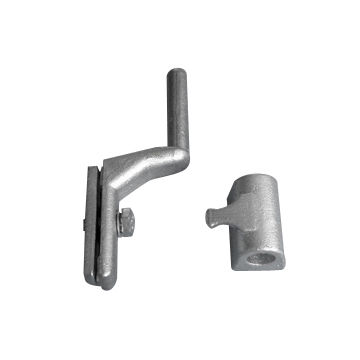 Investment casting truck hinges