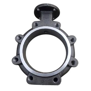 Investment casting butterfly valve