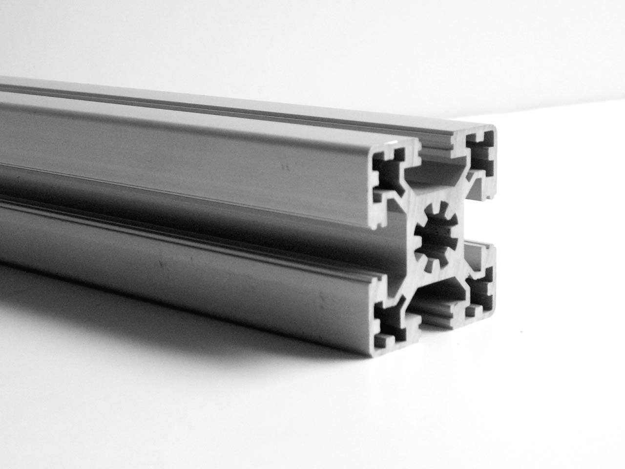 Clear anodized aluminum extrusion profiles