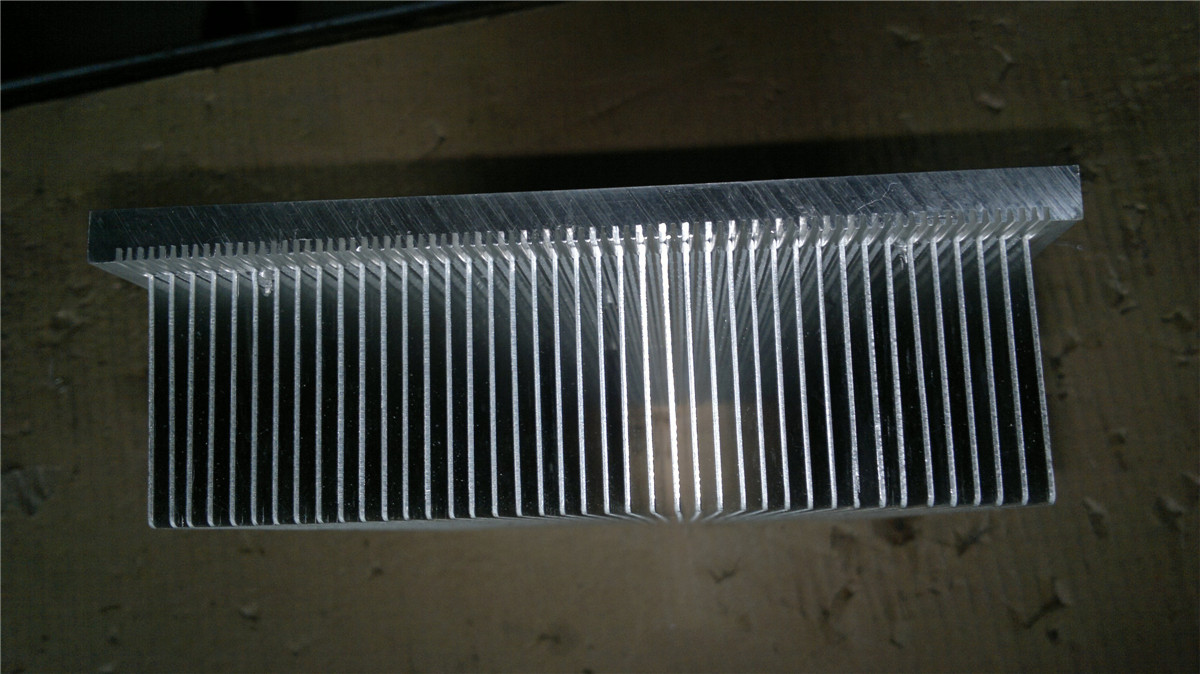 Chip radiator made out of 6063T5