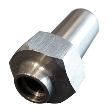 CNC machining aluminum shaft